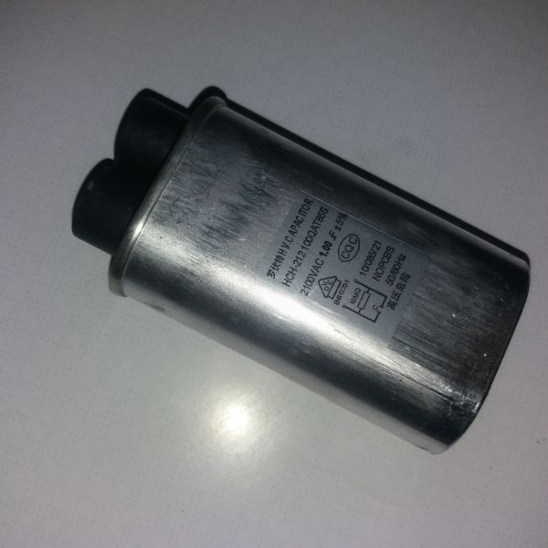 Конденсатор високовольтний 1 mf 2100v